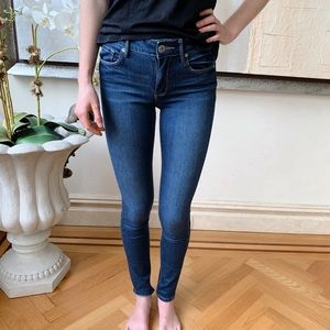 NWOT PacSun Blue Skinny High Rise Jeans